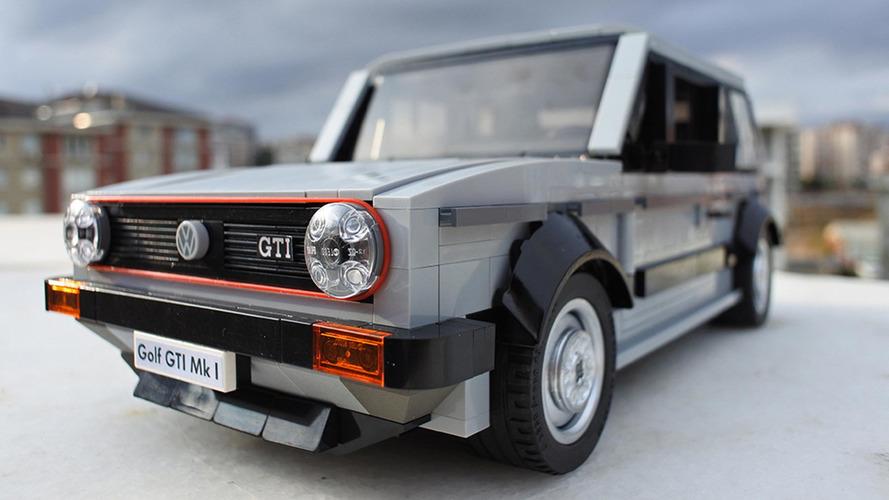 [GÜNCELLEME] Volkswagen Golf Mk1 GTI LEGO seti kesinlikle yapılmayı hak ediyor