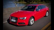 Novo Audi A5 Sportback é flagrado na rua sem disfarces