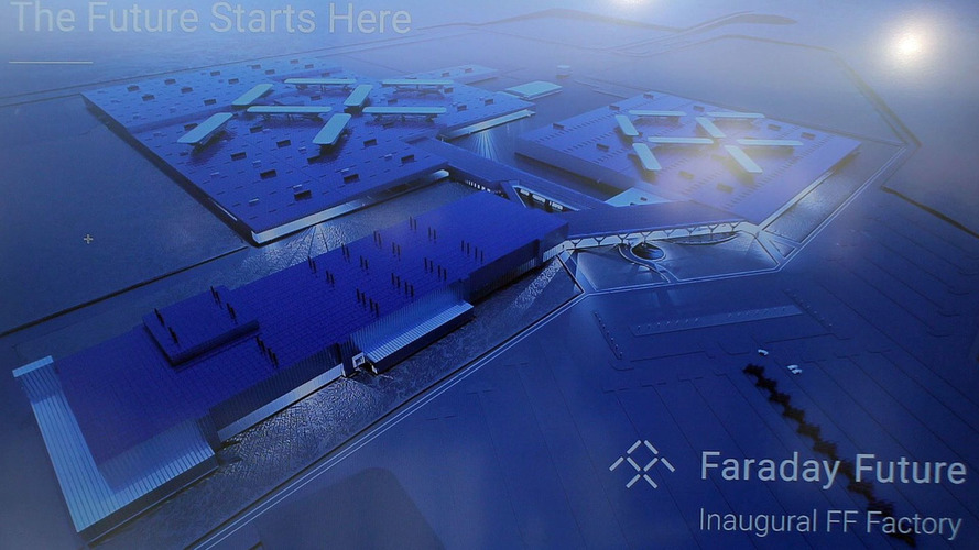 Faraday Future scaling down its Nevada factory, for now