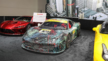 Ferrari 458 Art Car: Detroit 2017