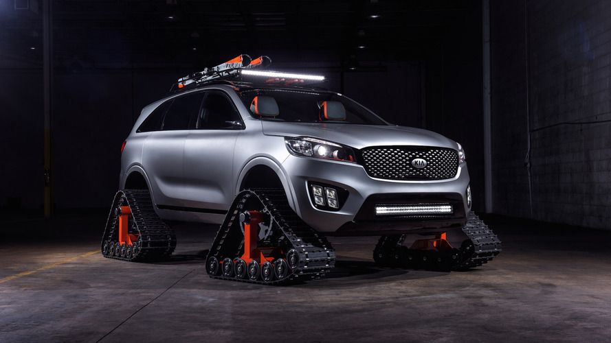 Kia rolls into SEMA with four autonomous concepts