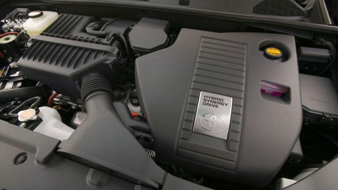 2008 Toyota Highlander Hybrid engine
