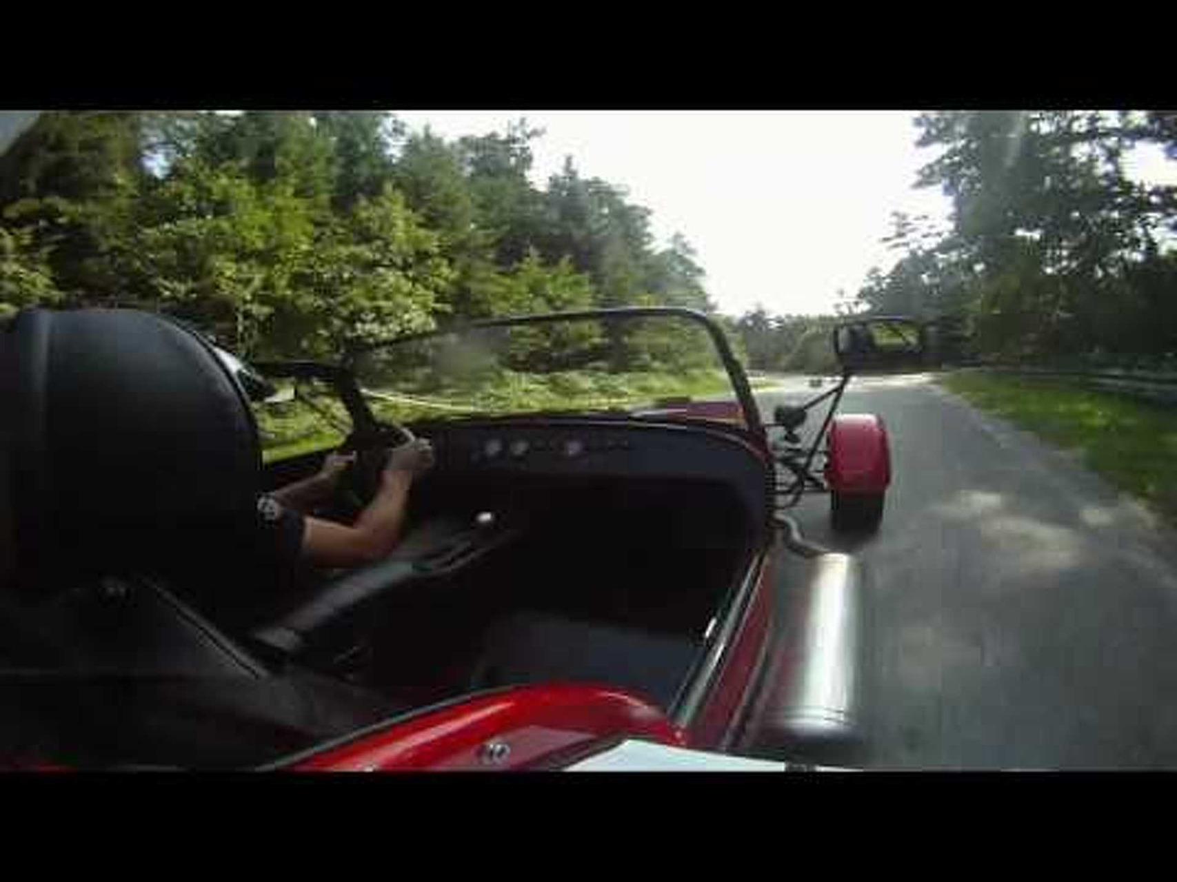 Caterham Roadsport 175 SV - Classicauto Cup tor