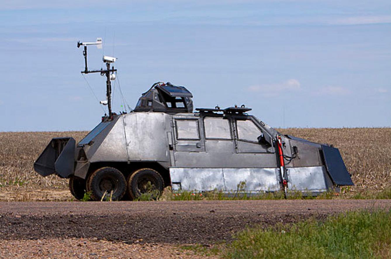 Tornado Intercept Vehicle Helps Cameras Get Inside the Storm