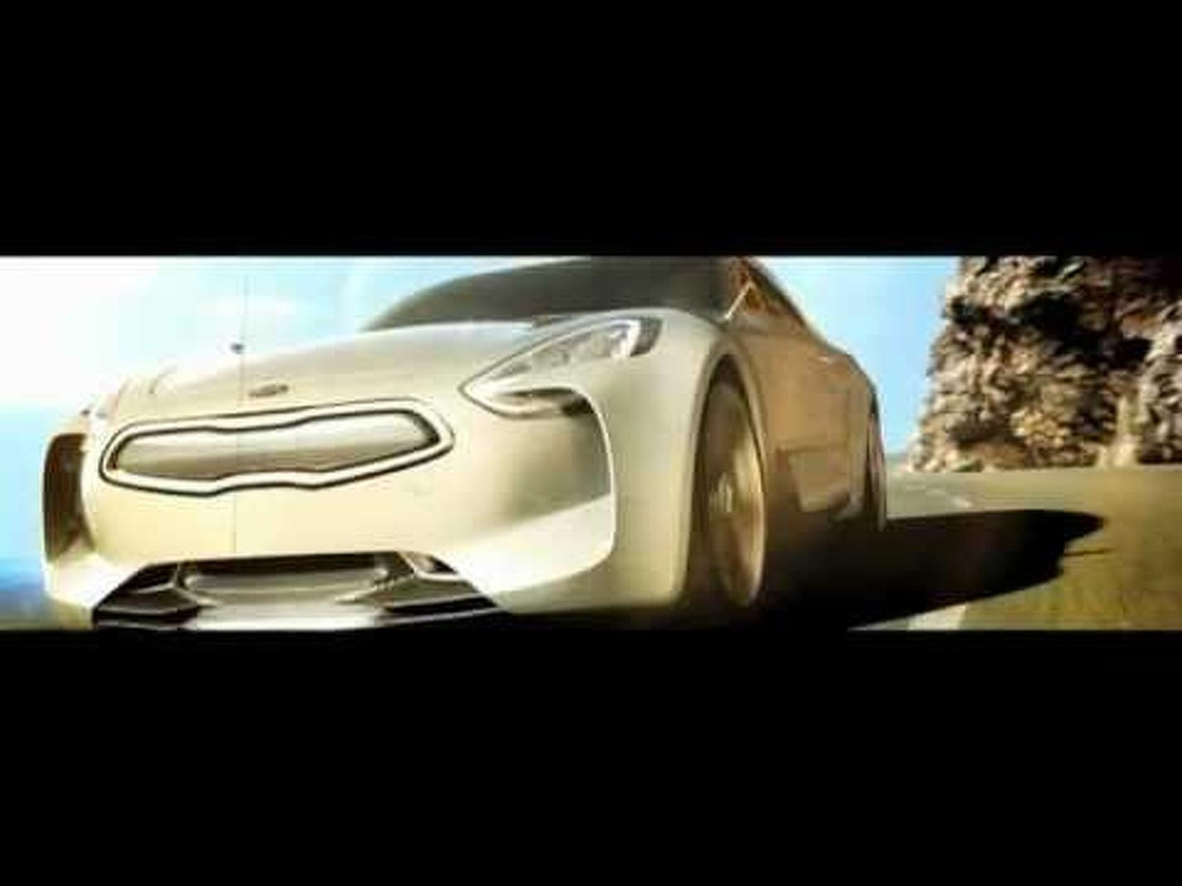 2011 Kia GT Concept - 2011 Frankfurt Motor Show Video