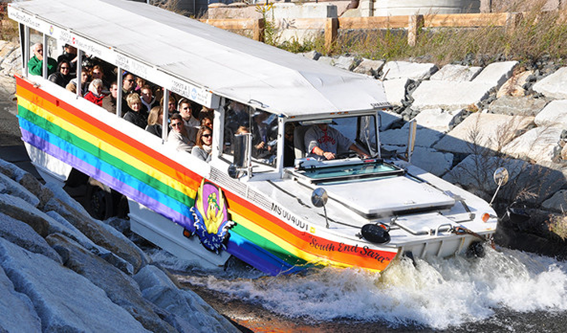 How Duck Boats Became the Official Vehicle of Boston Championships