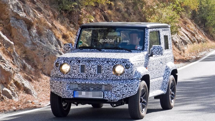 2018 Suzuki Jimny spy photos
