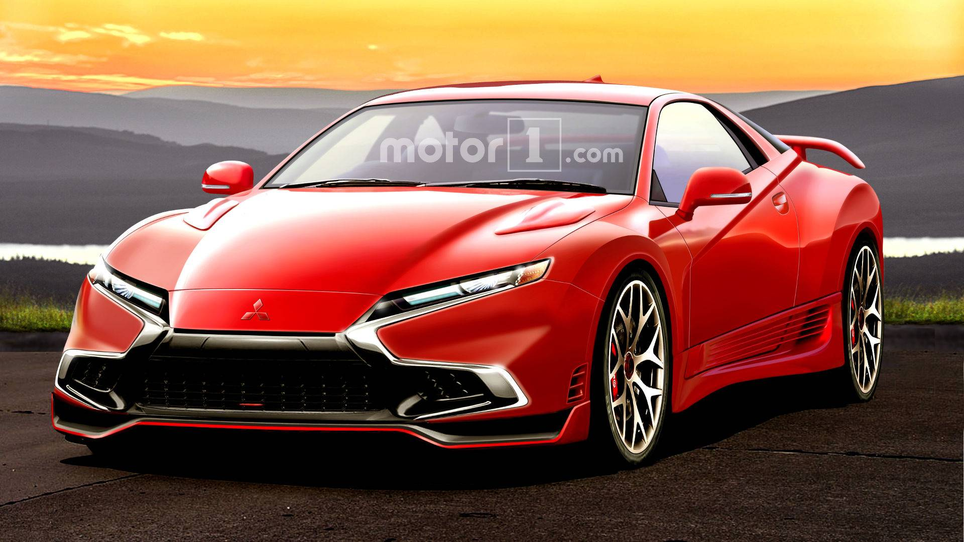 New Mitsubishi 3000gt >> Mitsubishi 3000gt Rendered As If It Were Alive Today