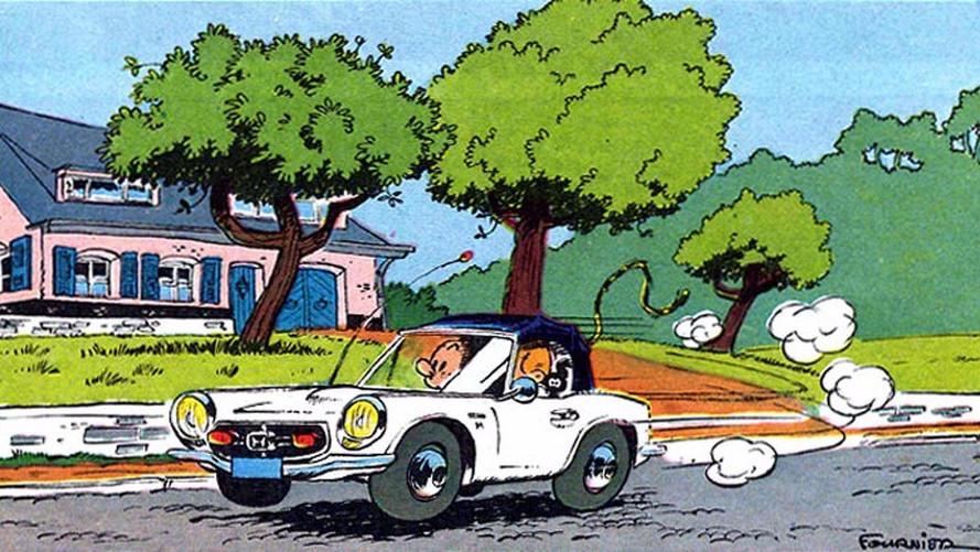 Quizz - Les voitures et la bande-dessinée !