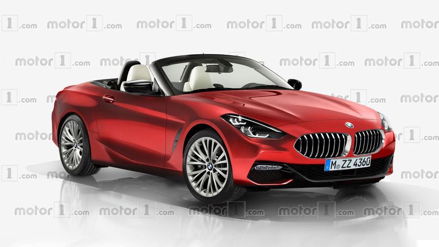 BMW Z4 render bizlere seri üretim aracı gösteriyor