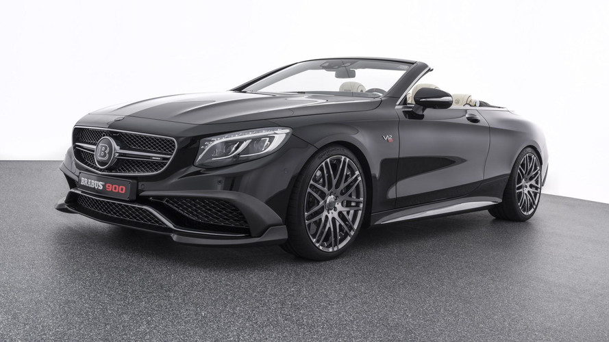 Brabus S65 Is World's Fastest, Most Powerful Four-Seat Cabrio