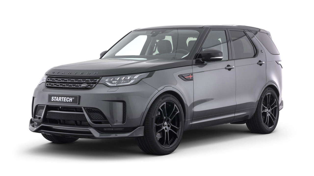 Startech Body Kit Gives Land Rover Discovery A Sporty Makeover