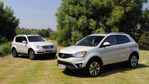 SsangYong Rexton W and Korando 60th anniversary edition