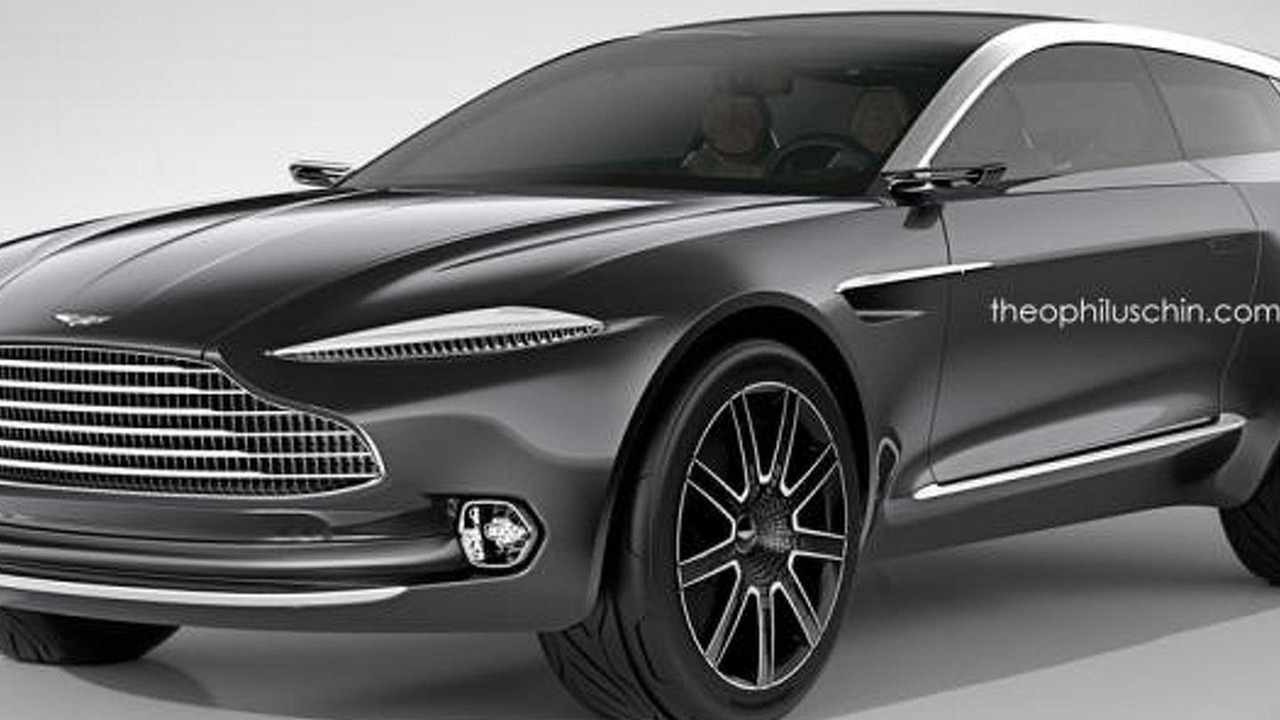 Aston Martin DBX Shooting Brake render