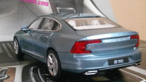 Volvo S90 scale model returns in 15 new images showing all angles