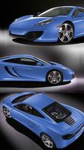 2010 McLaren MP4-12C - Blue Livery
