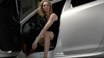 Frame of the new commercials with Uma Thurman for the commercial launch of the Alfa Romeo Giulietta, 720, 12.05.2010