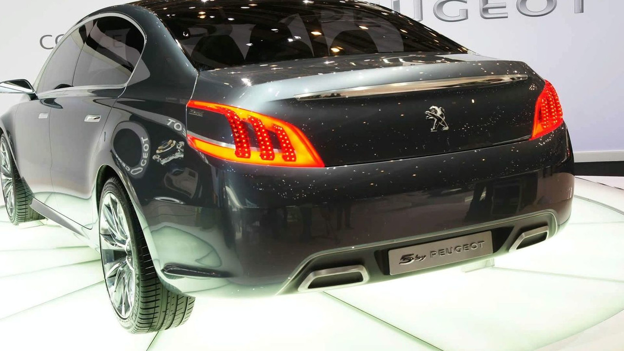 5 by Peugeot Concept in Geneva