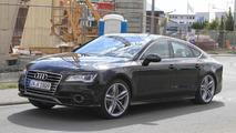 2011 Audi S7 undisguised prototype spy photo