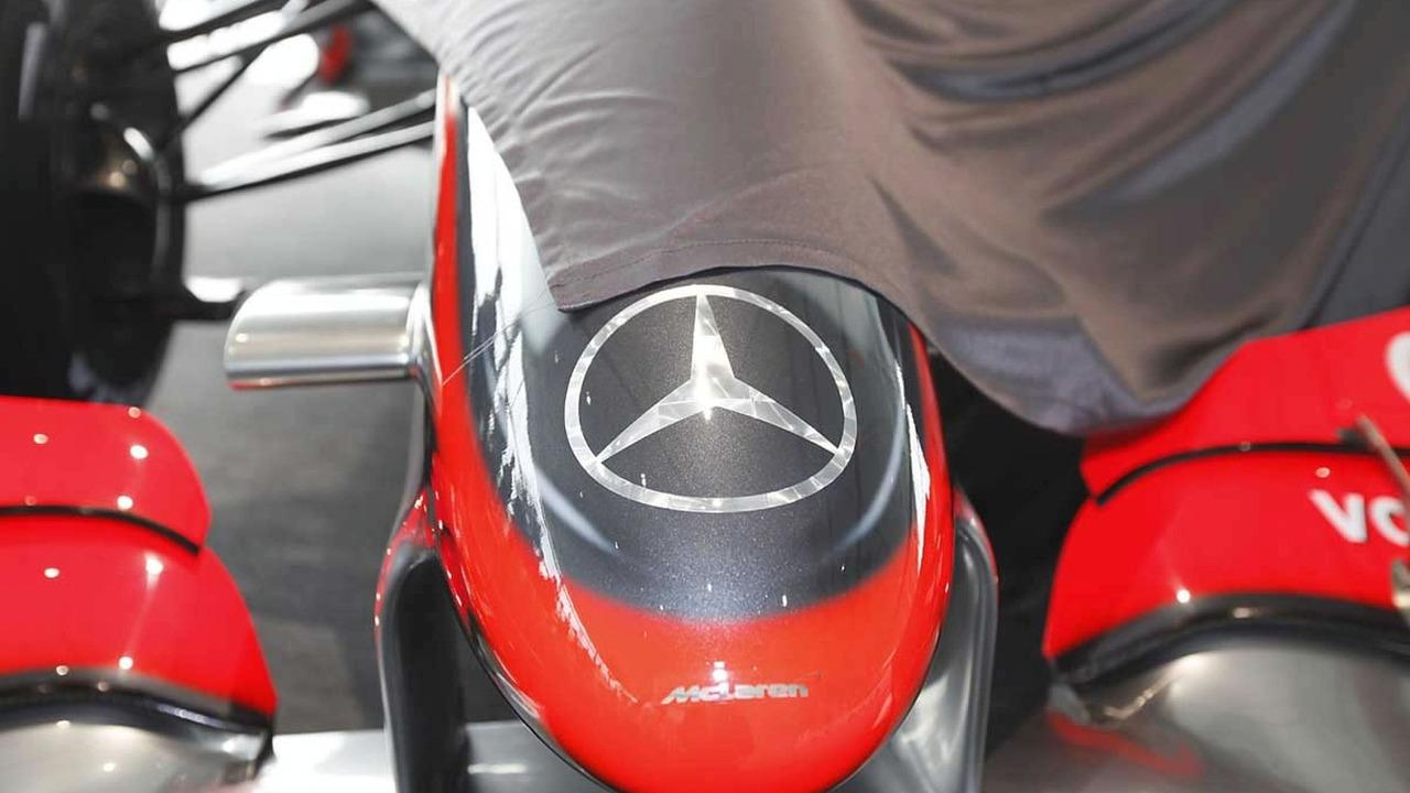 Mercedes-McLaren MP4-24 2009 F1 Car