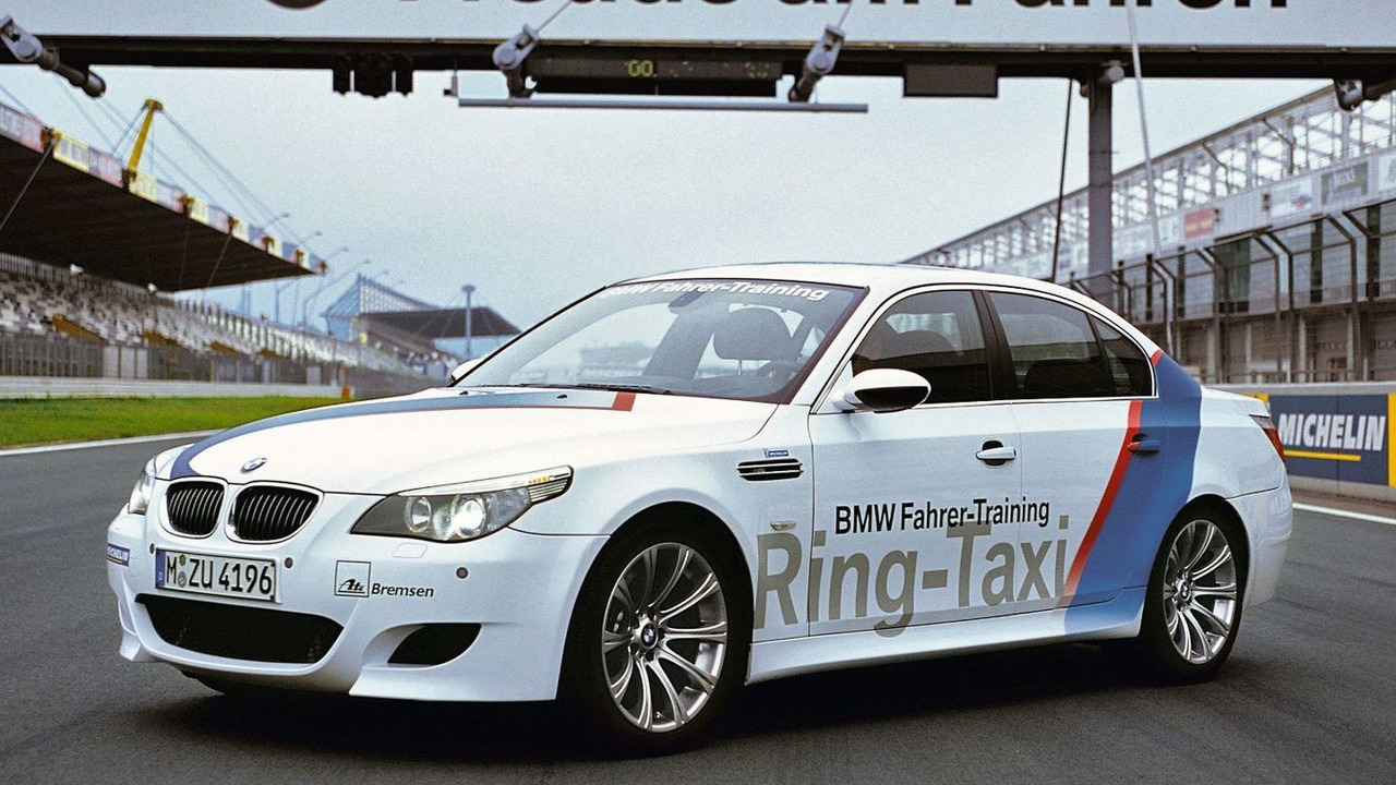 BMW M5 Ring Taxi Nürburgring's Nordschleife