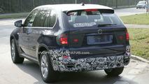 2010 BMW X5 Facelift spy photos