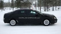 2011 Peugeot 508 winter test spy photos - 21.01.2010
