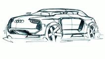 Audi Intelligent Emotion future mobility concept sketch by Fabian Weinert