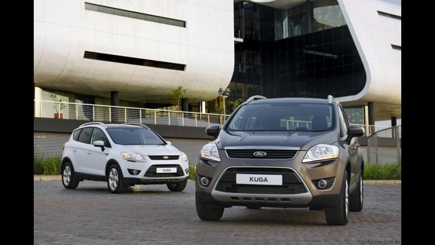 Ford Kuga europeu chega a Austrália em março de 2012