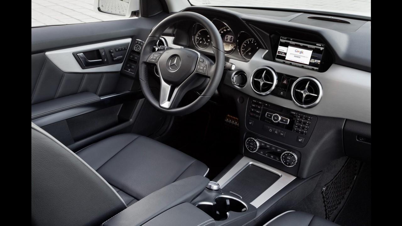 Novo Mercedes GLK 300 será atração da marca no Salão do Automóvel de São Paulo