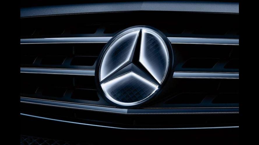 Mercedes oferecerá logotipo iluminado como opcional para alguns modelos