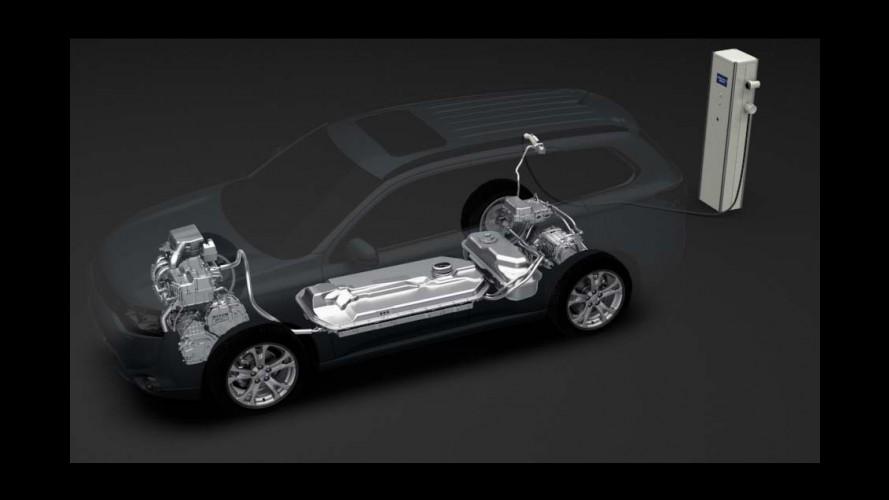 Versão híbrida: Mitsubishi divulga primeira imagem oficial do Outlander PHEV