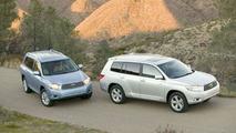 2008 Toyota Highlander And Highlander Hybrid