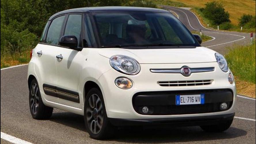 Fiat 500L, i prezzi per l'Italia