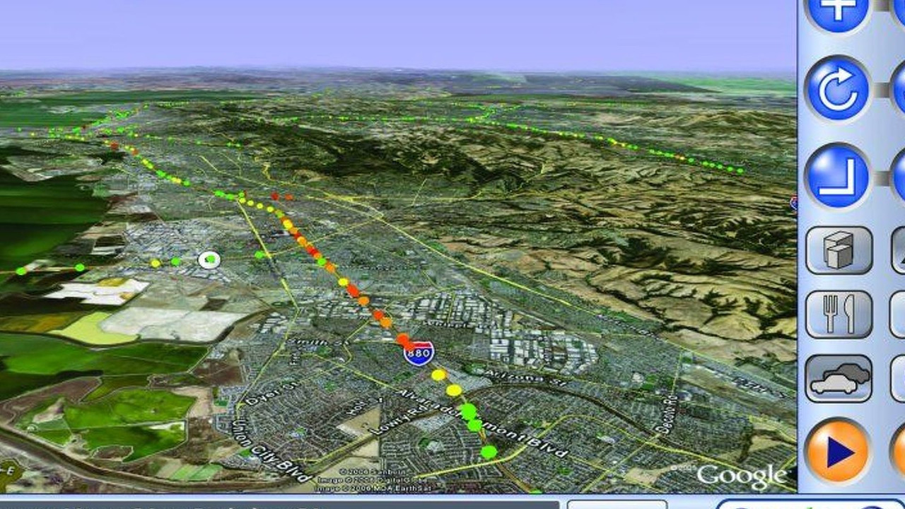 Volkswagen and Google Navigation System