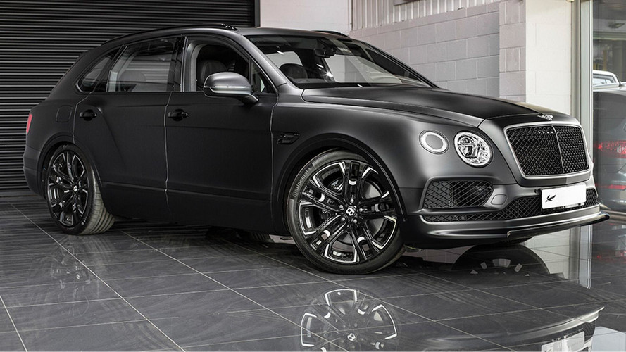 Kahn Bets On Black With Bentley Bentayga Le Mans Edition