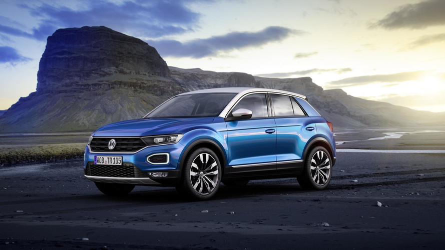 VW T-Roc Gets Ready To Rock Europe As A Stylish, Little CUV