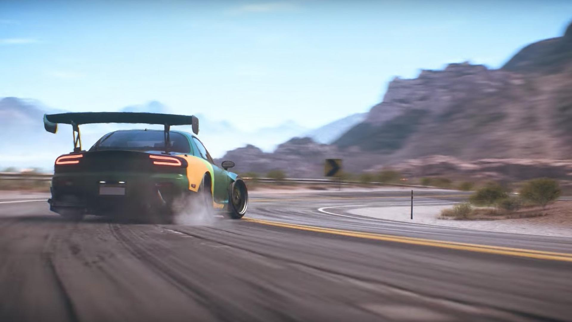 need for speed payback trailer looks a lot like forza horizon