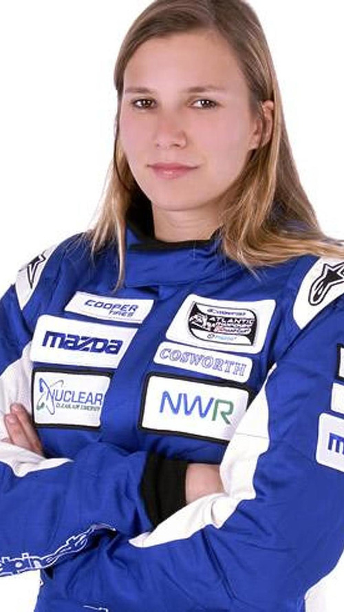 Sauber's female driver to make F1 test debut