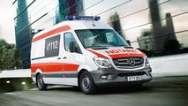 Mercedes Sprinter concept for RETTmobil 2014