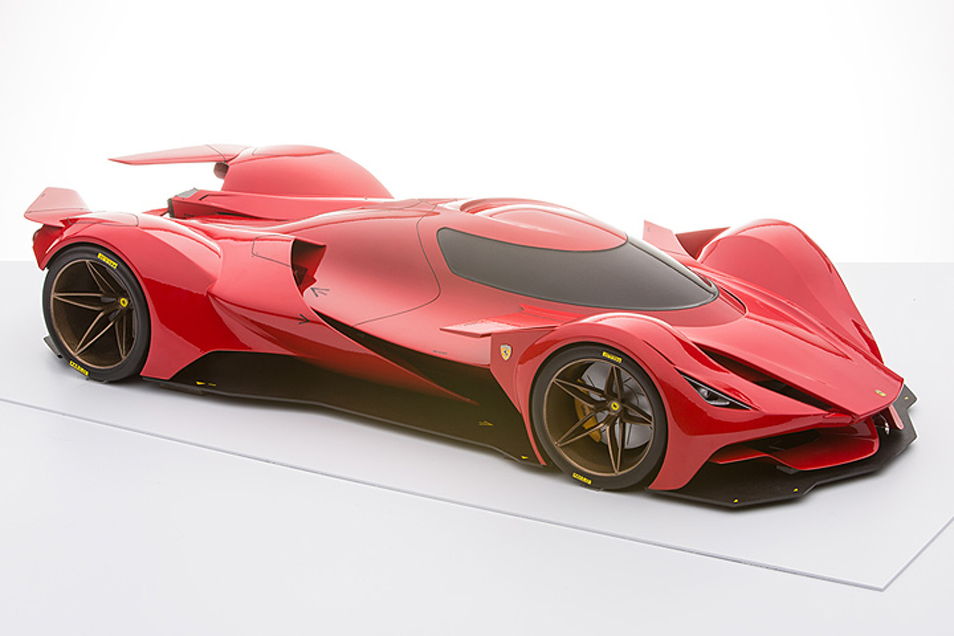 This Ferrari Le Mans Prototype Doesn\'t Exist, But it Should