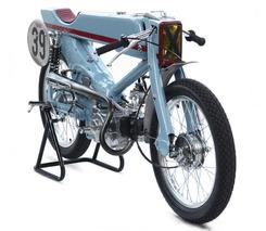 Japanese Tuner Turns Honda Super Cub into Vintage Racer