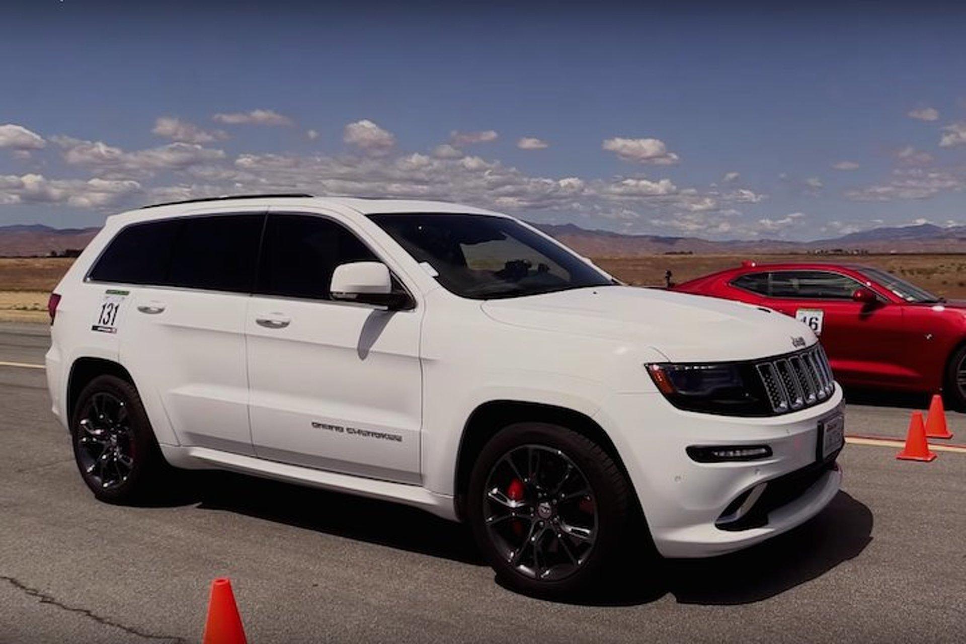 2016 Camaro SS vs Grand Cherokee SRT Can Jeep Hang Tough