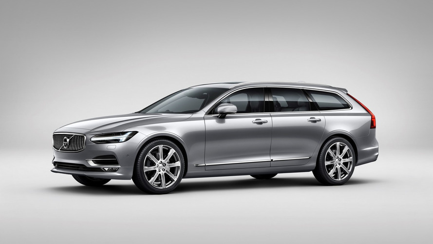 Volvo V90 wagon goes official [33 pics, 4 videos]