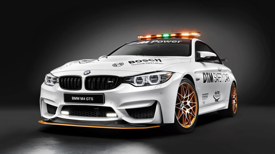 BMW M4 GTS unveiled as new DTM safety car