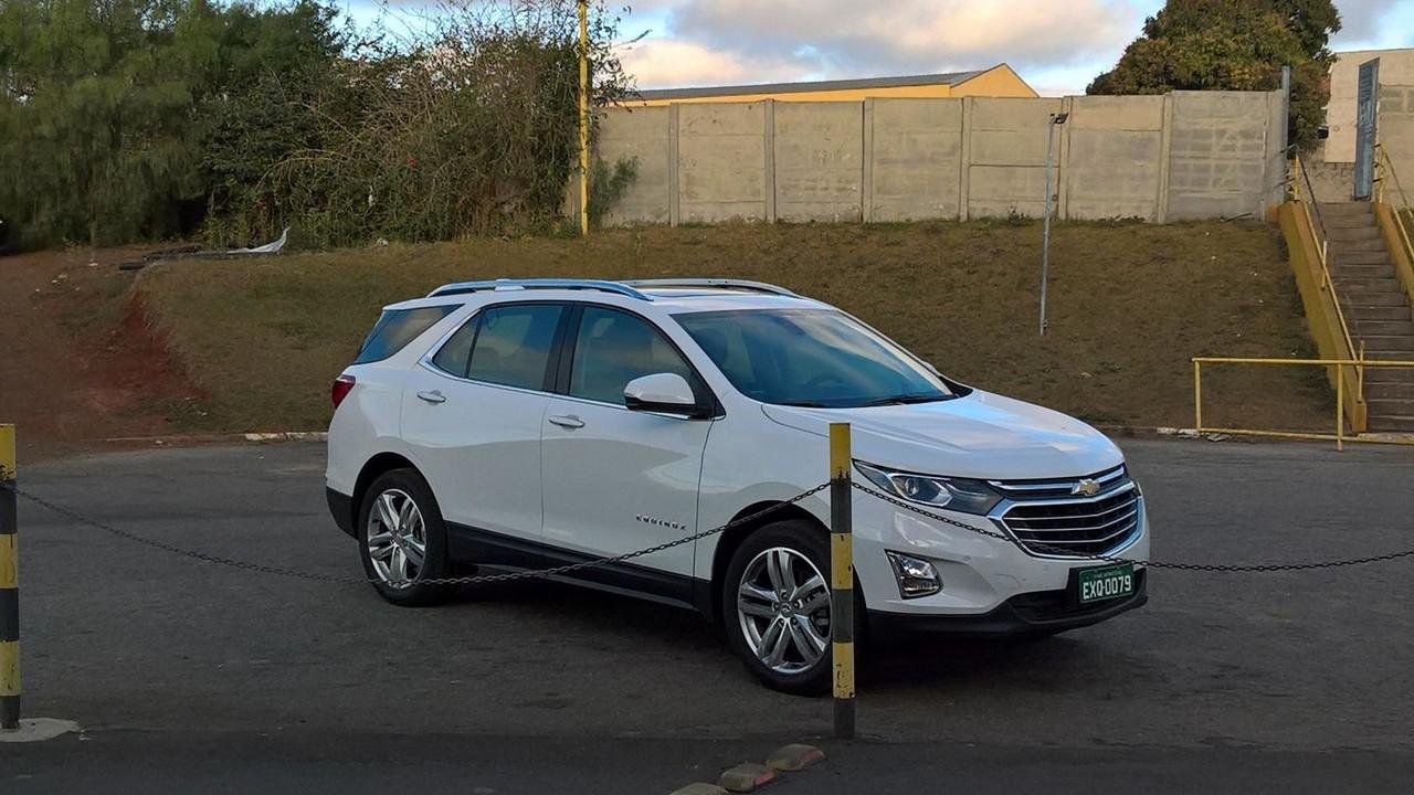 Flagra Chevrolet Equinox