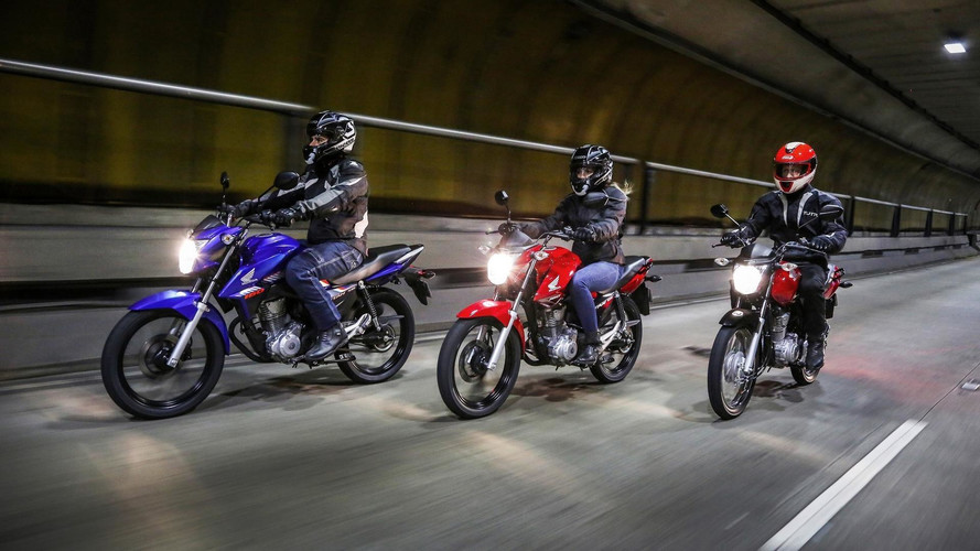 Nova Honda CG 2018 chega com freios CBS de série