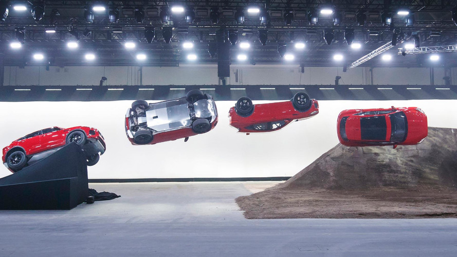 Find Out How The Jaguar E-Pace's Barrel Roll Was Achieved