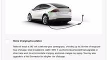 tesla home charging
