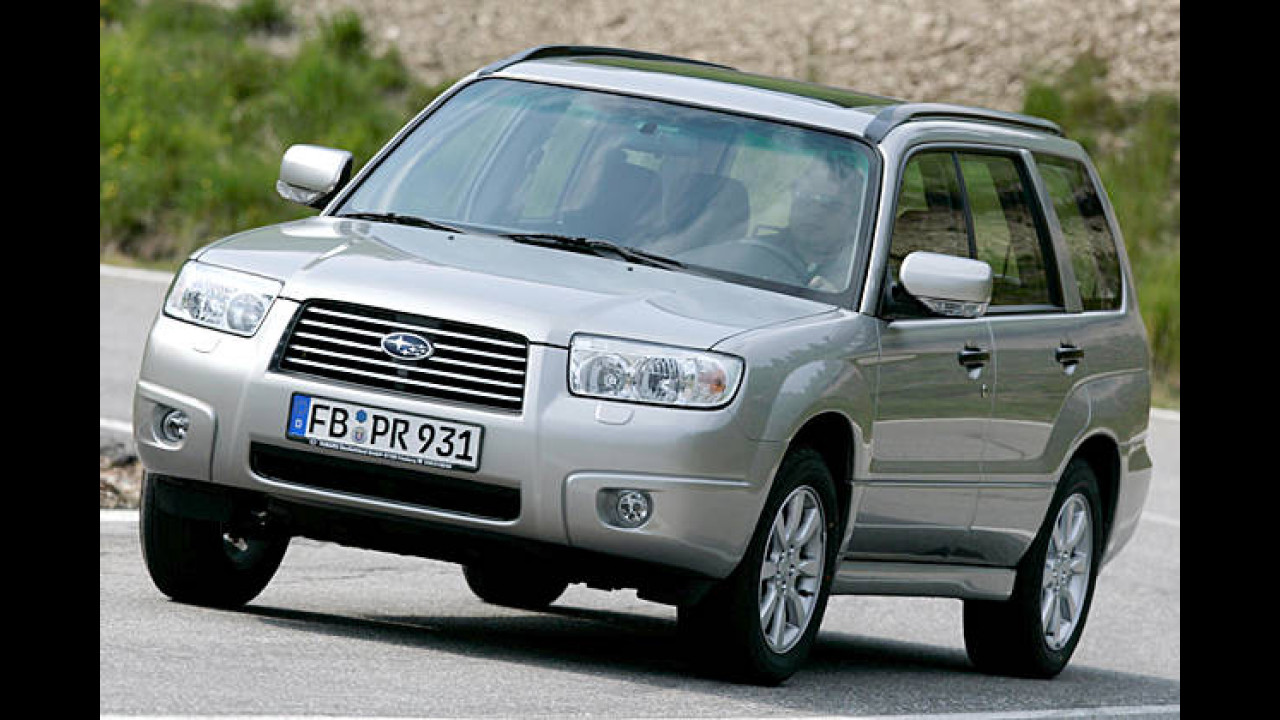 Subaru Forester 2.0X LPG Trend (Autogas)
